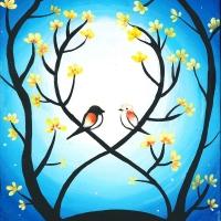 黄色い花の木の下で(中)_R